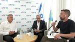 שאלות ותשובות לציבור הרחב, עם שר הבריאות ניצן הורוביץ יחד עם מנכל משרד הבריאות