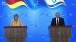 ביקור הקנצלרית - מסיבת עיתונאים - תרגום גרמנית