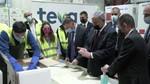 """ראש הממשלה בנימין נתניהו ושר הבריאות יולי (יואל) אדלשטיין ביקרו היום במרכז הלוגיסטי """"טבע סלא"""""""